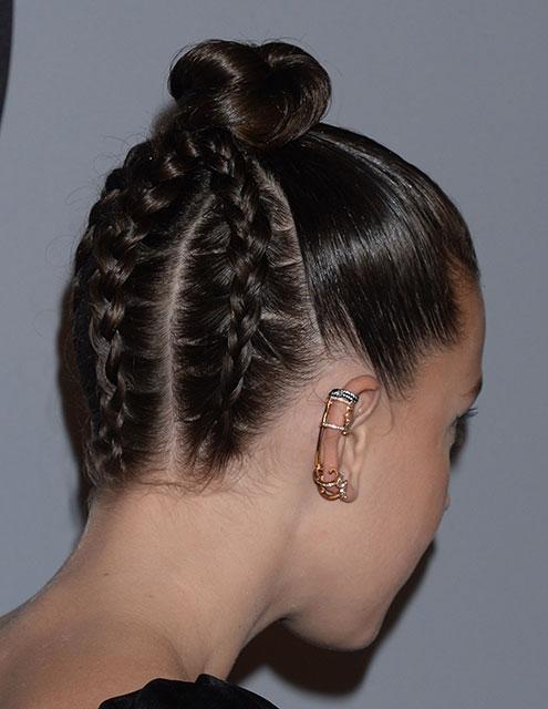 Ünlülerden en güzel örgülü saç modelleri